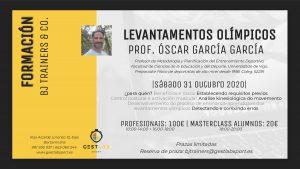 levantamientos olímpicos, Óscar García